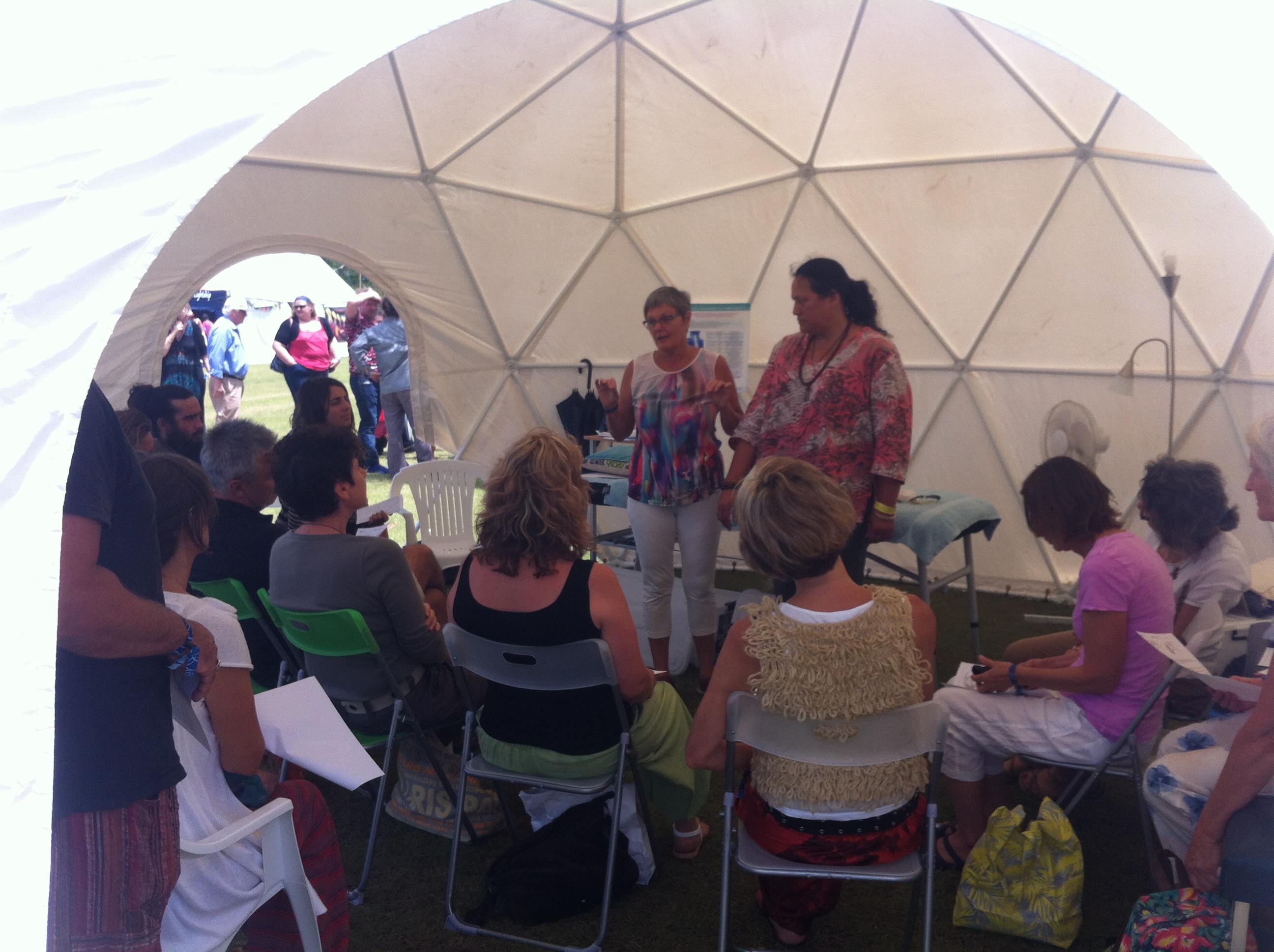 The 6 5 Metre Dome Dome Company Australia